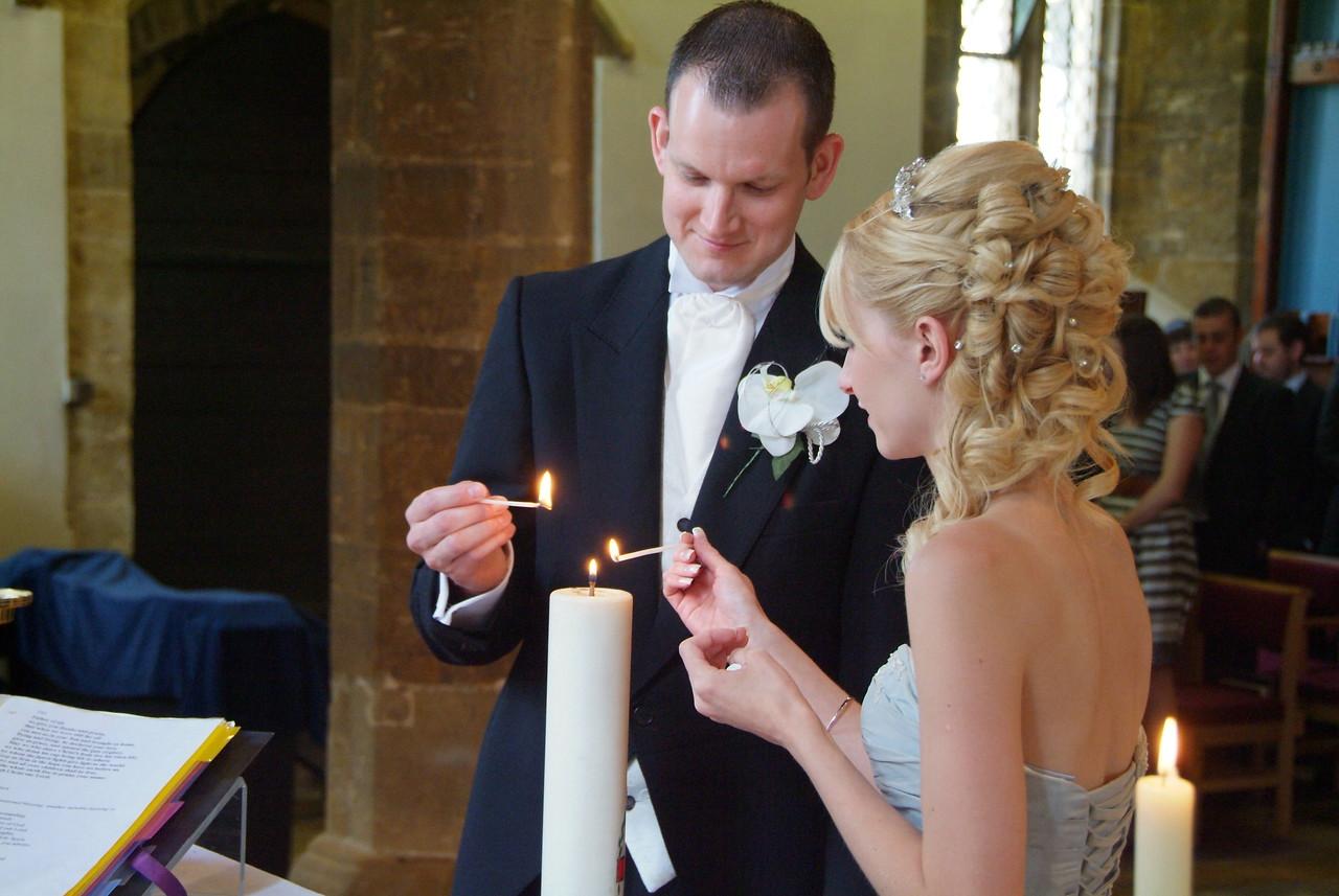 Duston Church Wedding