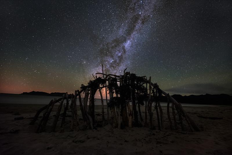 Made from 9 light frames by Starry Landscape Stacker 1.8.0.  Algorithm: Mean Min Hor Noise