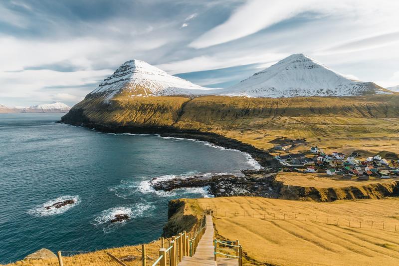 Gjógv, Faroe Islands.