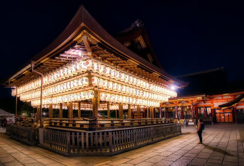 The Stage of the Yasaka Shrine