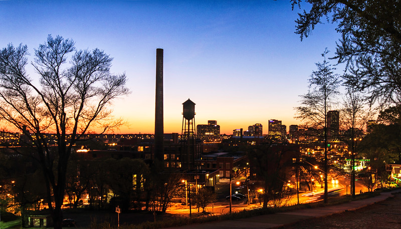 Golden Hour on LIbby Hill