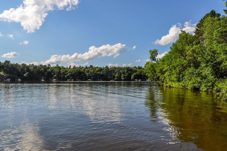 Calm Waters of Sibley Lake