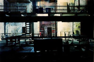 Untitled, Night Construction Series. 2006 35mm C-Print