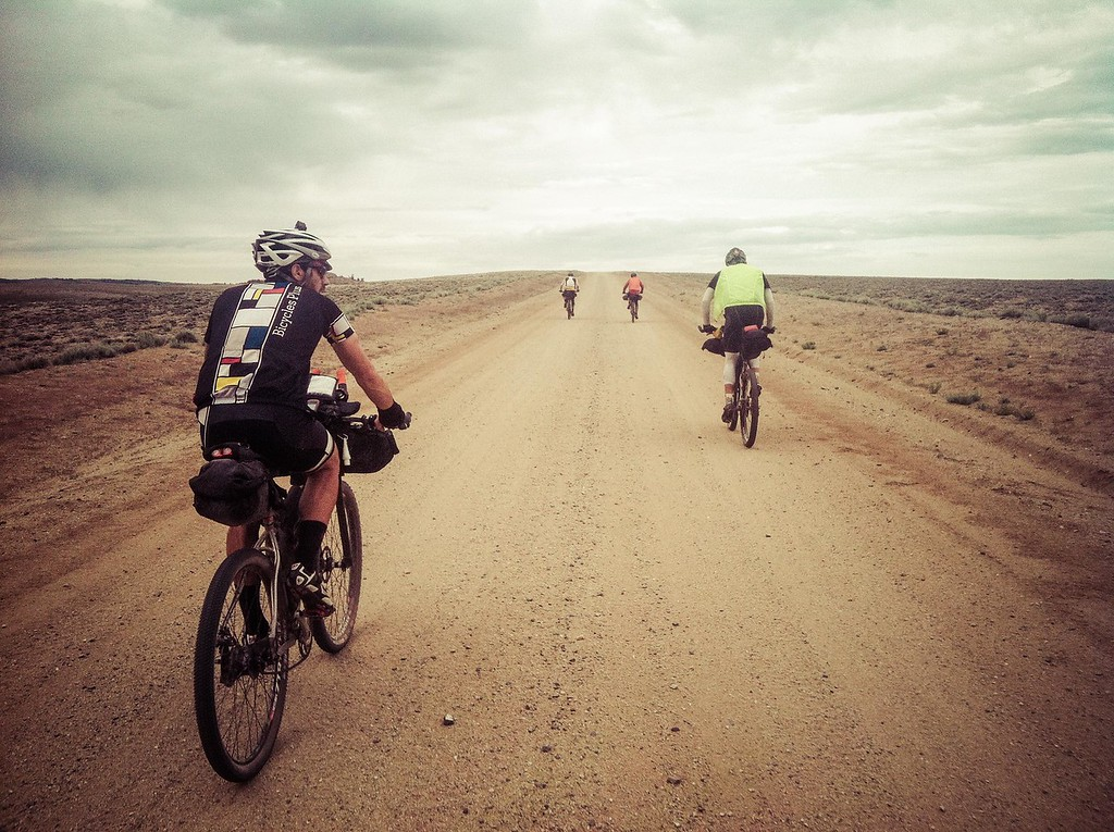 Riding through Wyoming's Great Basin is one of the milestones on the Tour Divide.  130 miles of rough road through one of the most barren parts of the country.