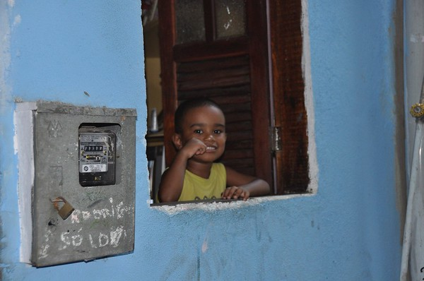Boy in Favela