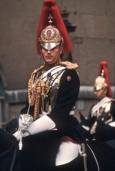 British Cavalryman at Buckinhgam Palace