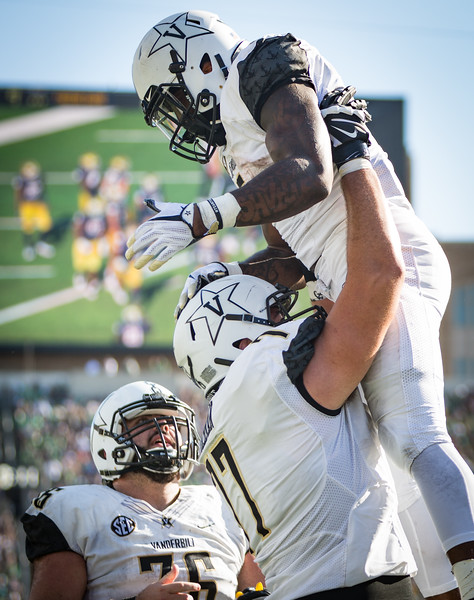 Vanderbilt plays Notre Dame on Saturday. September 15, 2018. (Photo by Hunter Long)