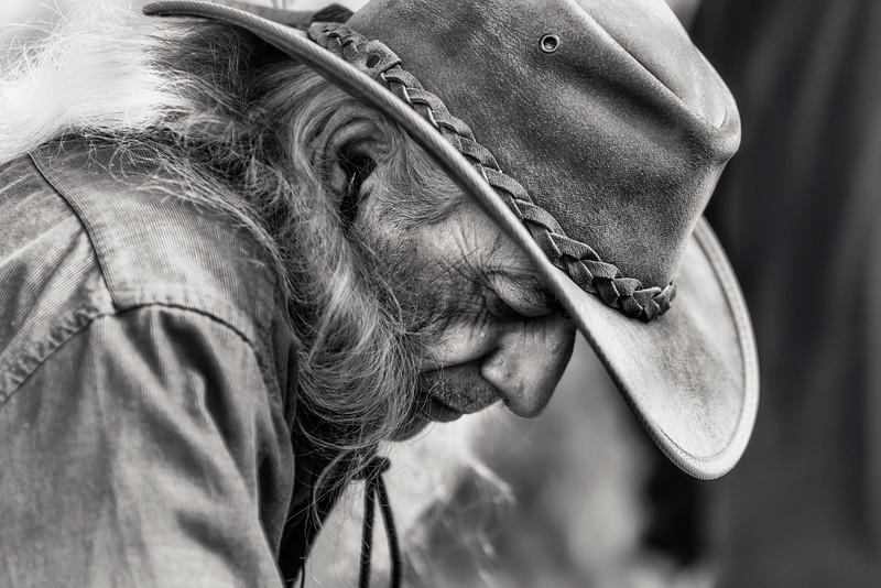 Man at the Fair, Montpelier, Vermont