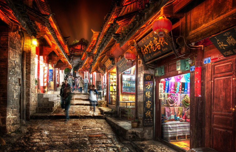Lijiang at Night