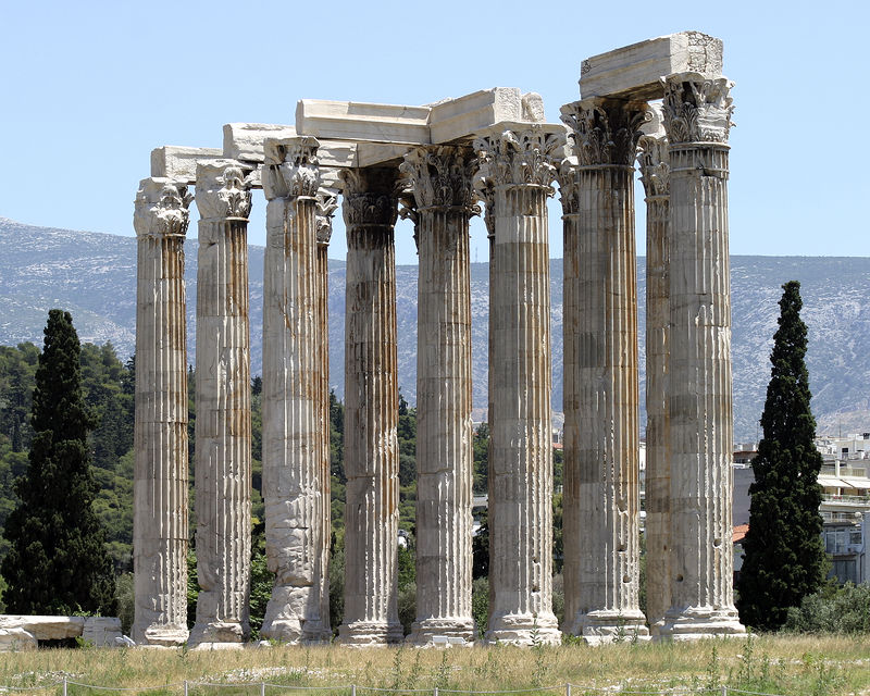 Athens -- Temple of Olympian Zeus