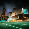 "<h2>The Walt Disney Concert Hall</h2> <br/>I had a late night taking photos in downtown LA. I parked over near the Walt Disney Concert Hall and this was my final photo of the night as I was walking back to my car.<br/><br/>It was one of those situations where I didn't feel like unfurling my camera again. You know when you're really tired and you're just ready to mail it in? That was me… but I saw this strange green light… and it looked a little like the green reflection off the hall… and then after that, I knew I had to go ahead and take a photo. I was happy to at that point.<br/><br/>- Trey Ratcliff<br/><br/><a href=""http://www.stuckincustoms.com/2012/08/22/the-walt-disney-concert-hall/"" rel=""nofollow"">Click here to read the entire post at the Stuck in Customs blog.</a>"