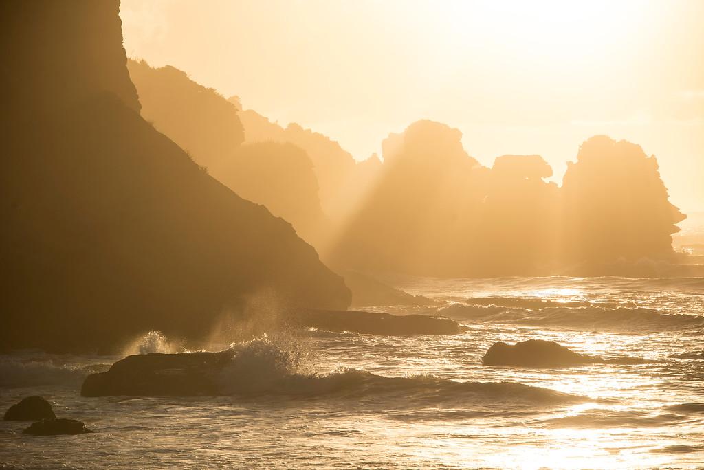Fox River Sunset West Coast New Zealand