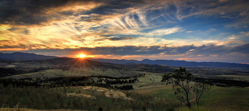 Brindabella Last Rays of the Sun