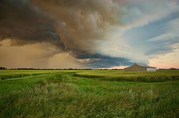'Angry Skies' ~ Rural Missouri