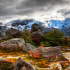 "<h2>A Rocky Morning</h2> <br/>One morning when I crawled out of my tent in Argentina, a dense cloud was just rolling through.  I got out to explore a bit, and the cloud quickly blew away to reveal an amazing landscape.<br/><br/>I had planned just to take a few shots and then go back to the camp and make some breakfast.  But then, I saw something interesting just around the other side of the rocks.  And then, I got over there and saw something else that might be interesting.  And it was.  And then I saw something even further away...<br/><br/>- Trey Ratcliff<br/><br/><a href=""http://www.stuckincustoms.com/2010/05/15/argentina-mountains/"" rel=""nofollow"">Click here to read the rest of this post at the Stuck in Customs blog.</a>"