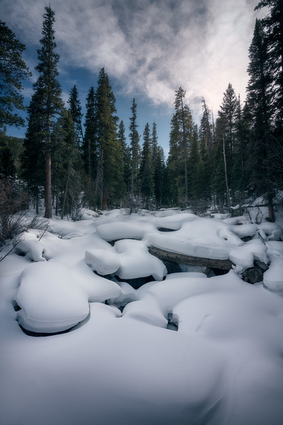 Snow Pillows || Rocky Mountain National Park