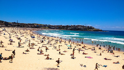 Bondi Beach in the summer - Sydney, Australia