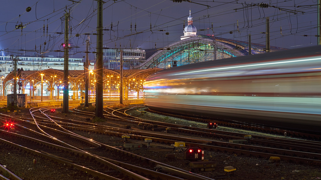 """Lightspeed at Cologne Central Station"""