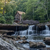 The Glade Creek grist mill at Babcock State Park