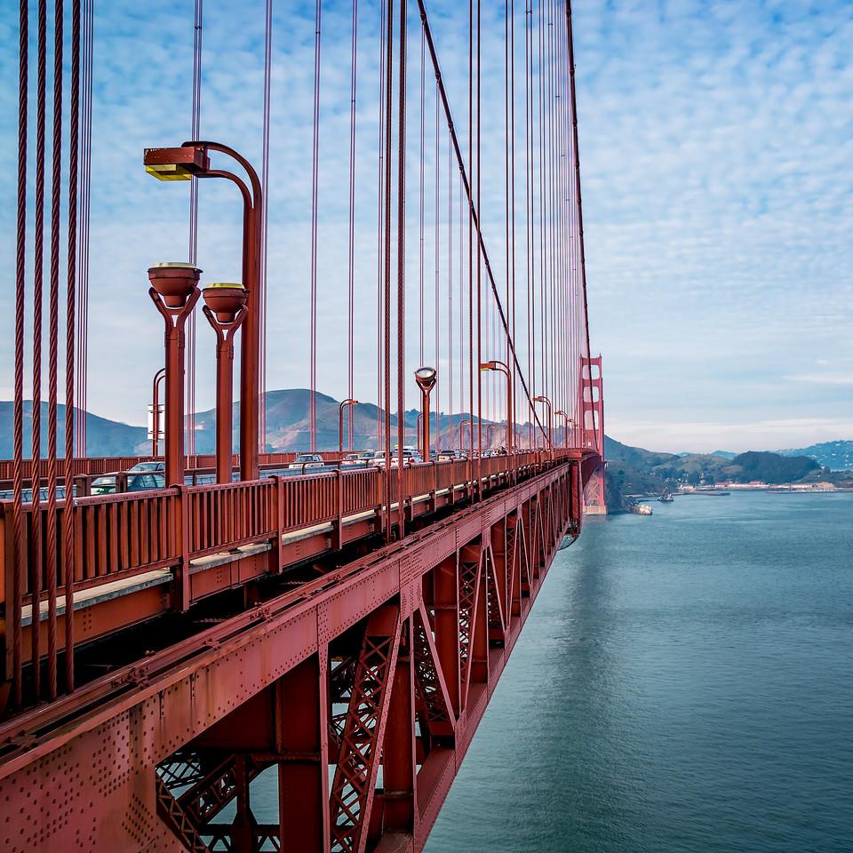 Golden Gate Bridge Geometry (California)