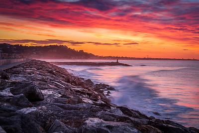 Sunrise over Port Ginesta