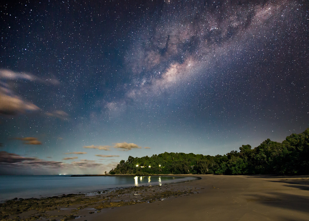 Moonlit Beach by the Coral Sea (1)