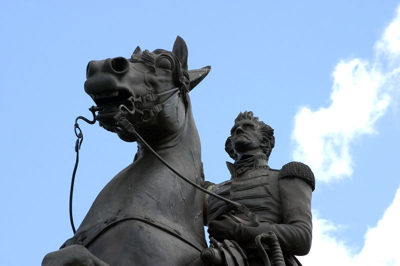 New Orleans -- Statue of Andrew Jackson in Jackson Square