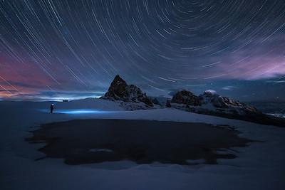 Dolomites stargazing