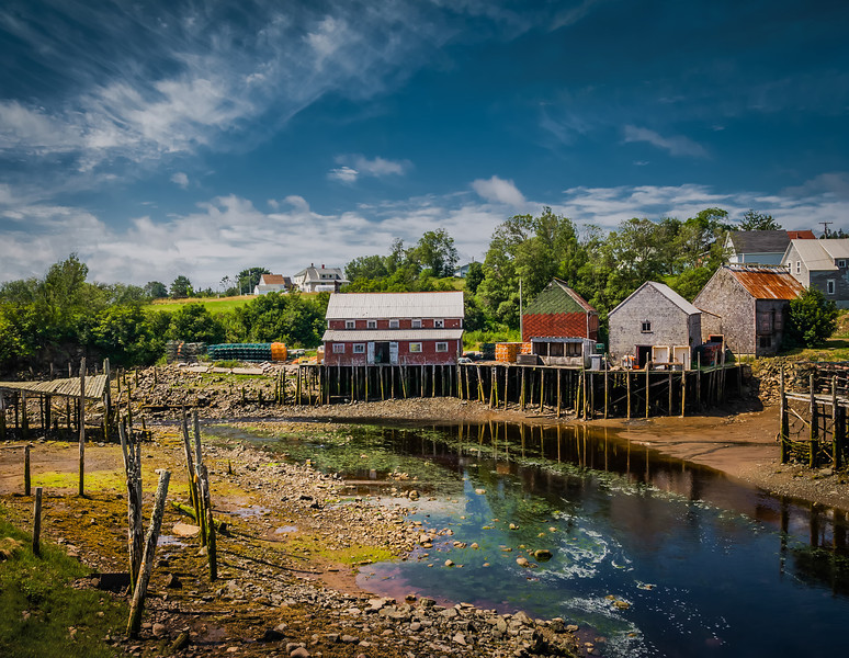 Bay of Fundy – Low Tide Afternoon