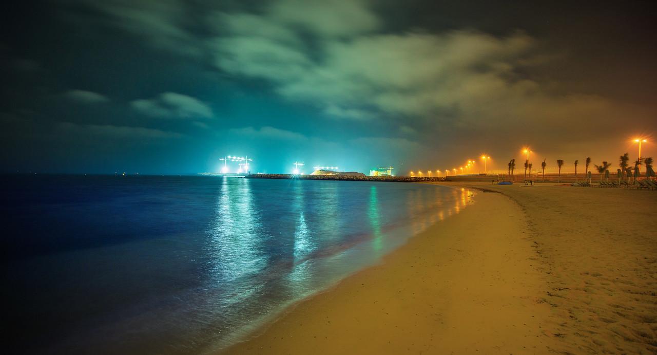 A Lonely Walk In Dubai