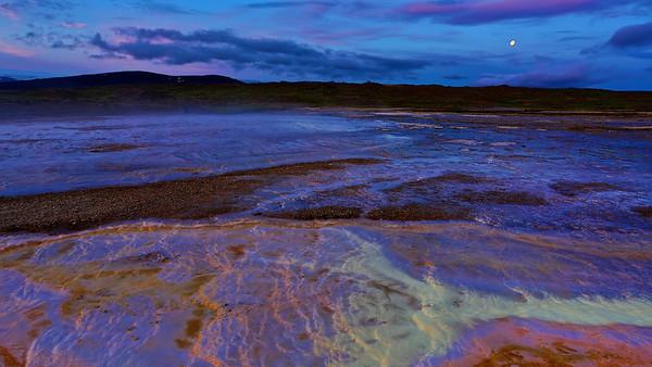 Hot Springs in Hveravellir, Iceland