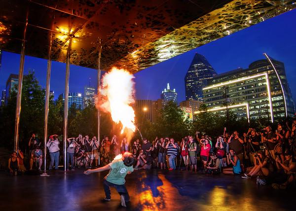 A Hot Night In Dallas!