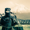A Young Ninja at Mt. Fuji