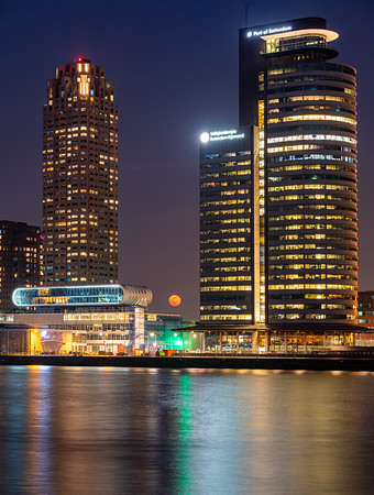 Rotterdam, Netherlands - april 2020