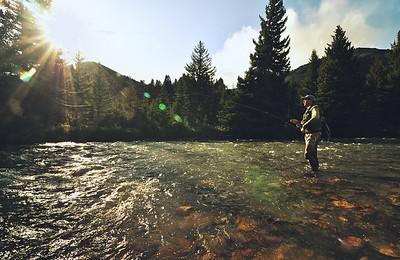Gallatin Riffle Prospecting
