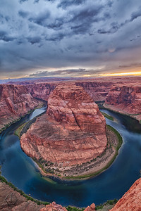 Horseshoe Bend Sunset, Arizona