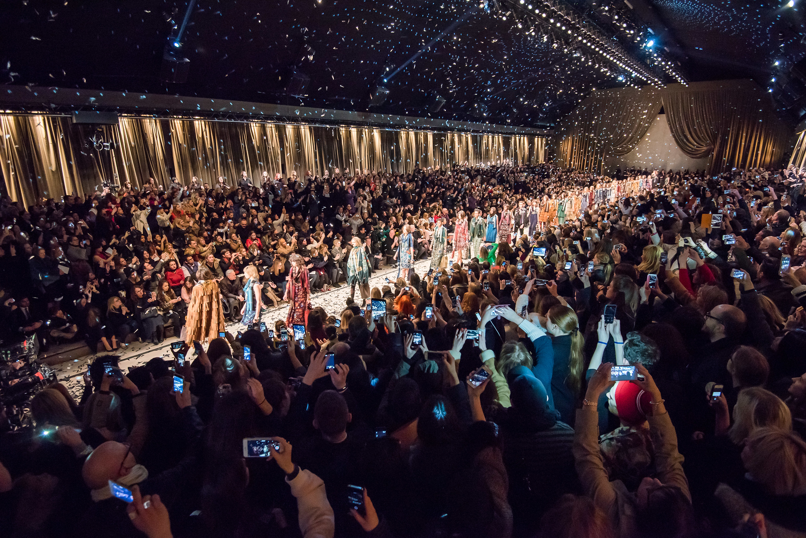 Burberry Show at AW15 London Fashion Week<br /> ©Ben Broomfield