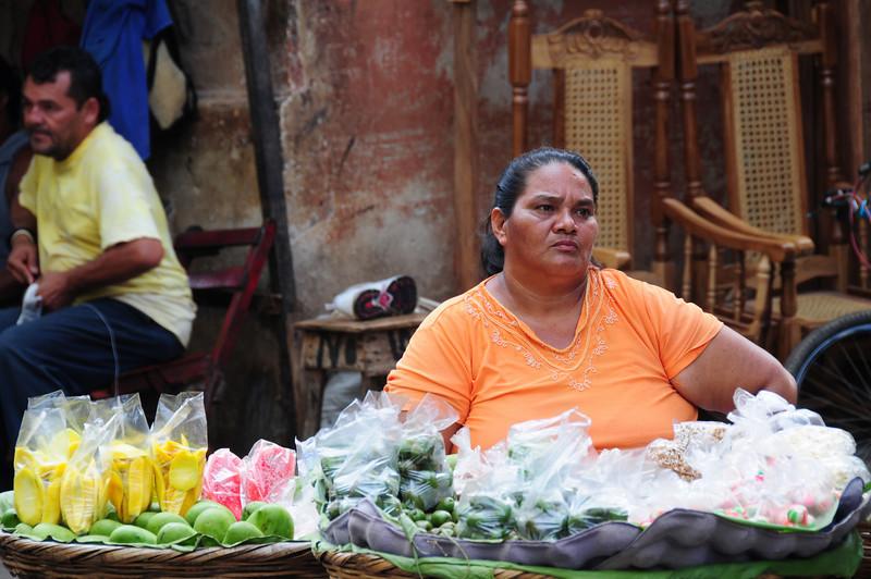 Happy at work in Granada. Nicaragua