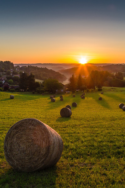 Sunrise over Sarlat