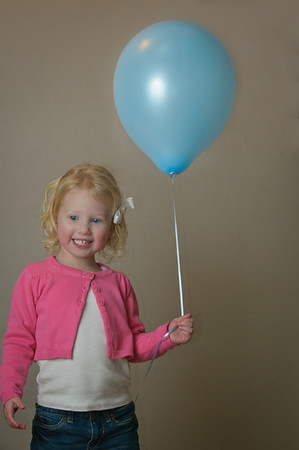 Brynn and Her Balloon