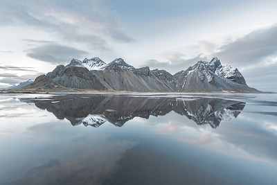 Mount Vestrahorn reflections