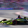 John Chaides / Courier<br /> Charlie Kimball speeds through the Hairpin Turn during a IndyCar practice race at the Toyota Grand Prix of Long Beach on Friday, April 13, 2018.