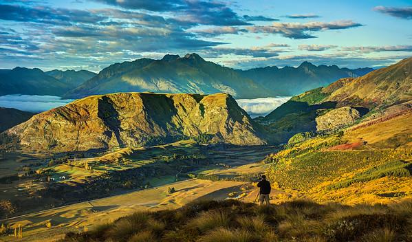 Hans Mast in New Zealand