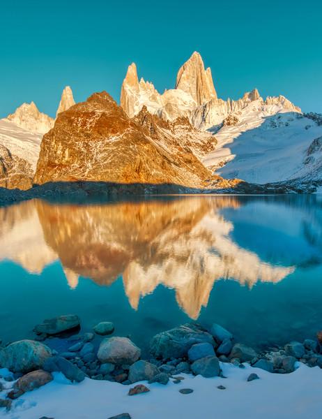 A Snowy Walk In Patagonia