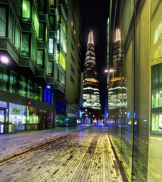 Exploring the New London at Night