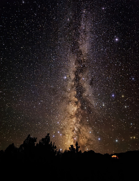 Milky Way in Nevada Basin and Range Dark Skies
