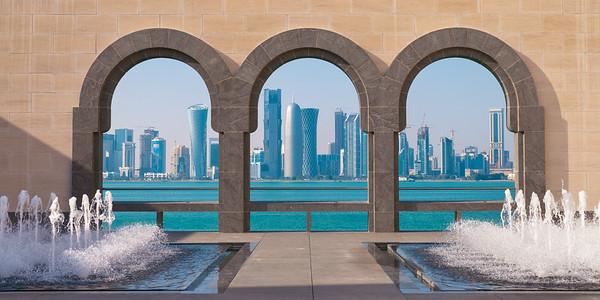City skyline, Doha, Qatar