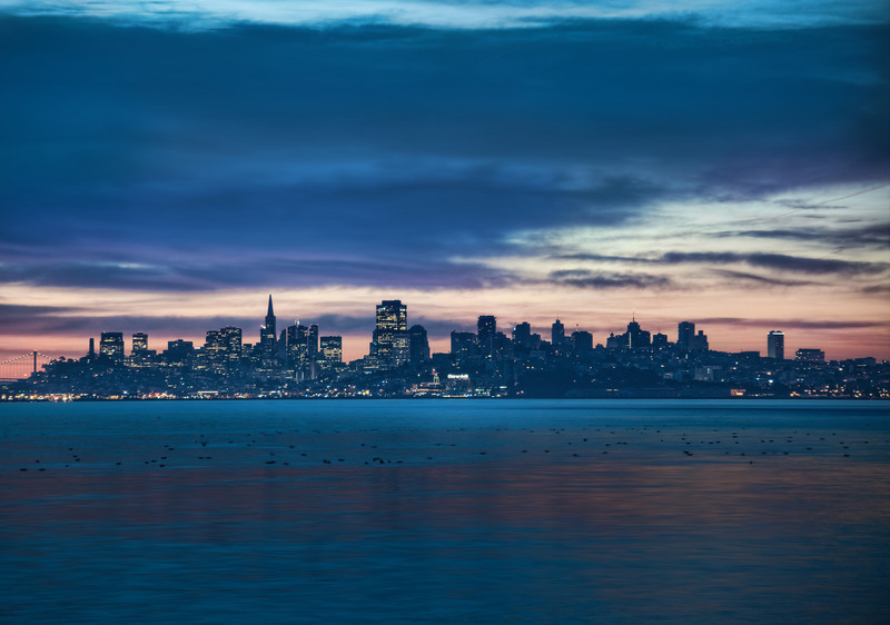 "<h2>San Francisco Before Sunrise</h2> <br/>Before I started going to the main location, Tom and I pulled over to the side of the road in Sausalito to get this picture.  The water was too blue and the colors were too interesting to drive on by!  We wanted to be quick though… so we didn't miss the sun peaking over the horizon at the main location.<br/><br/>- Trey Ratcliff<br/><br/><a href=""http://www.stuckincustoms.com/2012/05/06/san-francisco-before-sunrise/"" rel=""nofollow"">Click here to read the rest of this post at the Stuck in Customs blog.</a>"