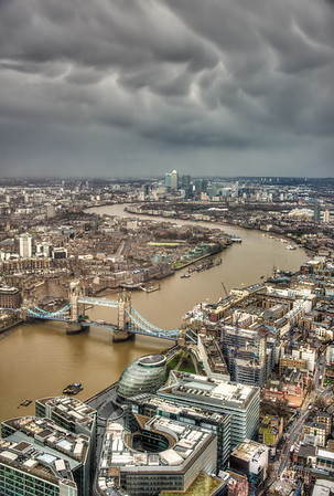River Thames from the Shard - London