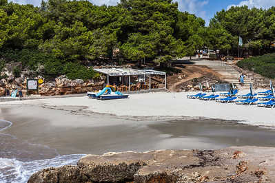 The Beach at Cala Blanca